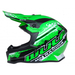 New 2020 Wulfsport Kids Off Road Pro Helmet - Green