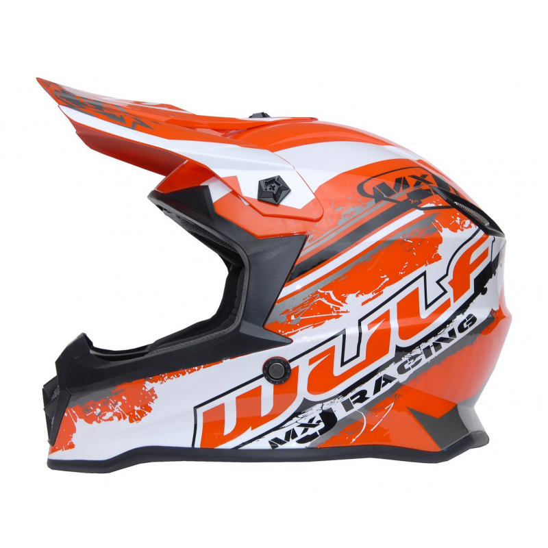 New 2021 Wulfsport Kids Off Road Pro Helmet - Orange