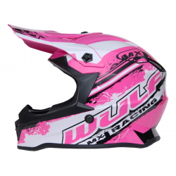New 2020 Wulfsport Kids Off Road Pro Helmet - Pink