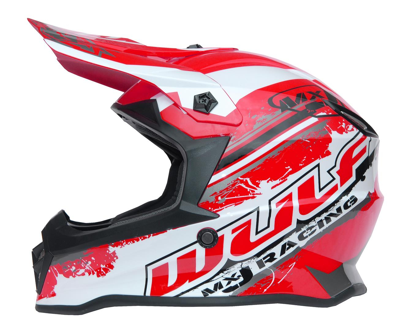New 2020 Wulfsport Kids Off Road Pro Helmet - Red