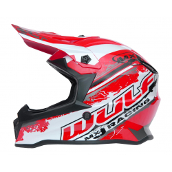 New 2021 Wulfsport Kids Off Road Pro Helmet - Red