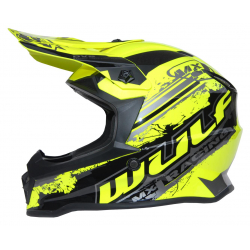 New 2021 Wulfsport Kids Off Road Pro Helmet - Yellow