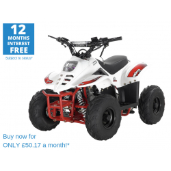 ORION MIKRO 70cc KIDS QUAD -  WHITE