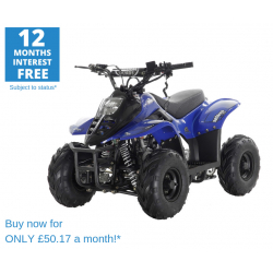 ORION MIKRO 70cc KIDS QUAD - BLUE