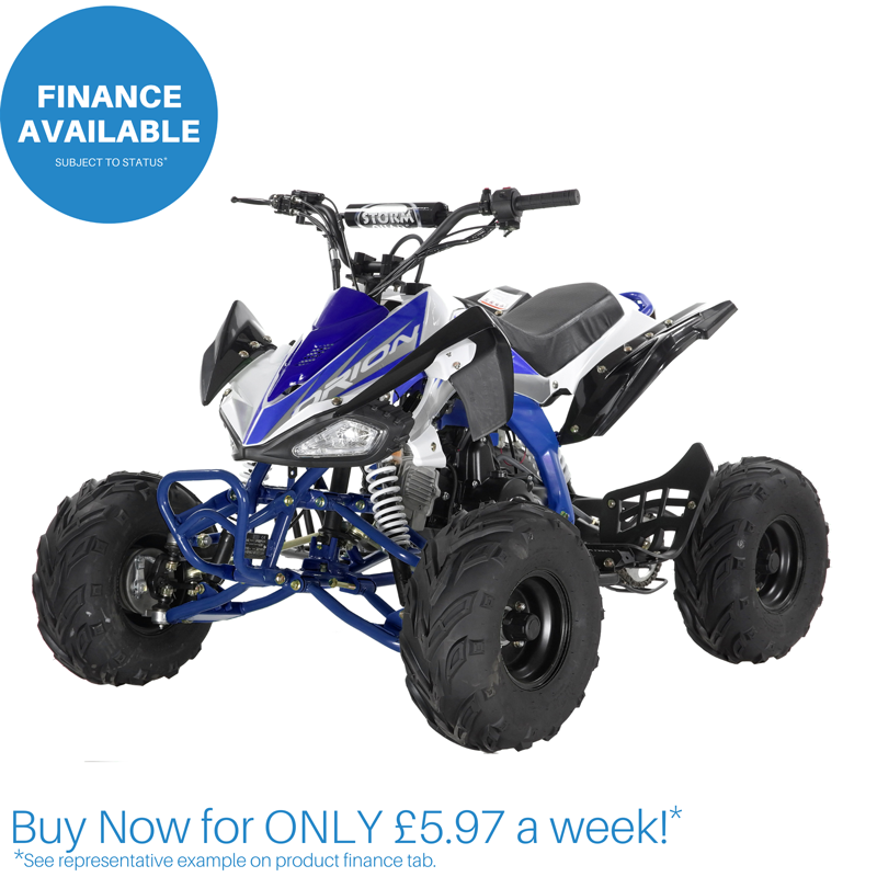 ORION PANTHER 110cc KIDS QUAD BIKE - BLUE