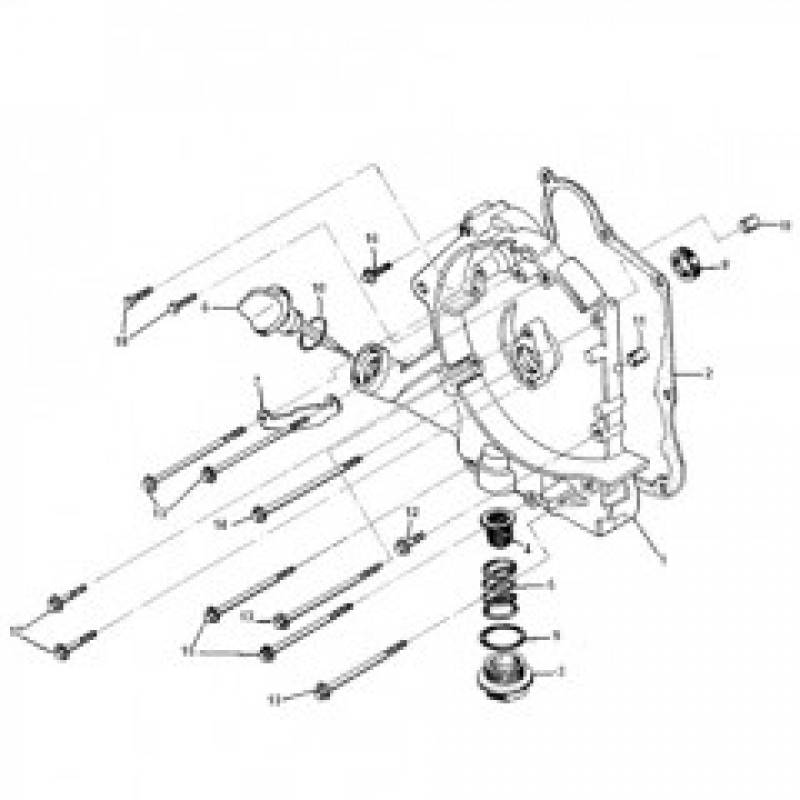Outer Crankcase