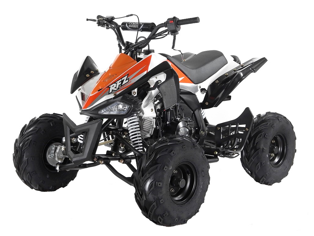 PANTHER 110cc KIDS QUAD BIKE - ORANGE - 2021