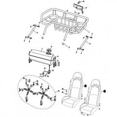 Rear Rack / Seat / Fuel Tank