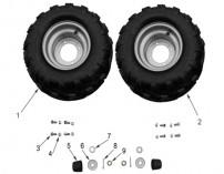 Rear Wheel & Tyre