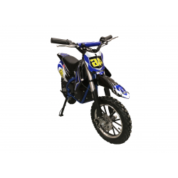 Self Assembly 500W Kids Mini Dirtbike - 2019 Model - Blue