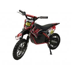 Self Assembly 500W Kids Mini Dirtbike - 2019 Model - Red