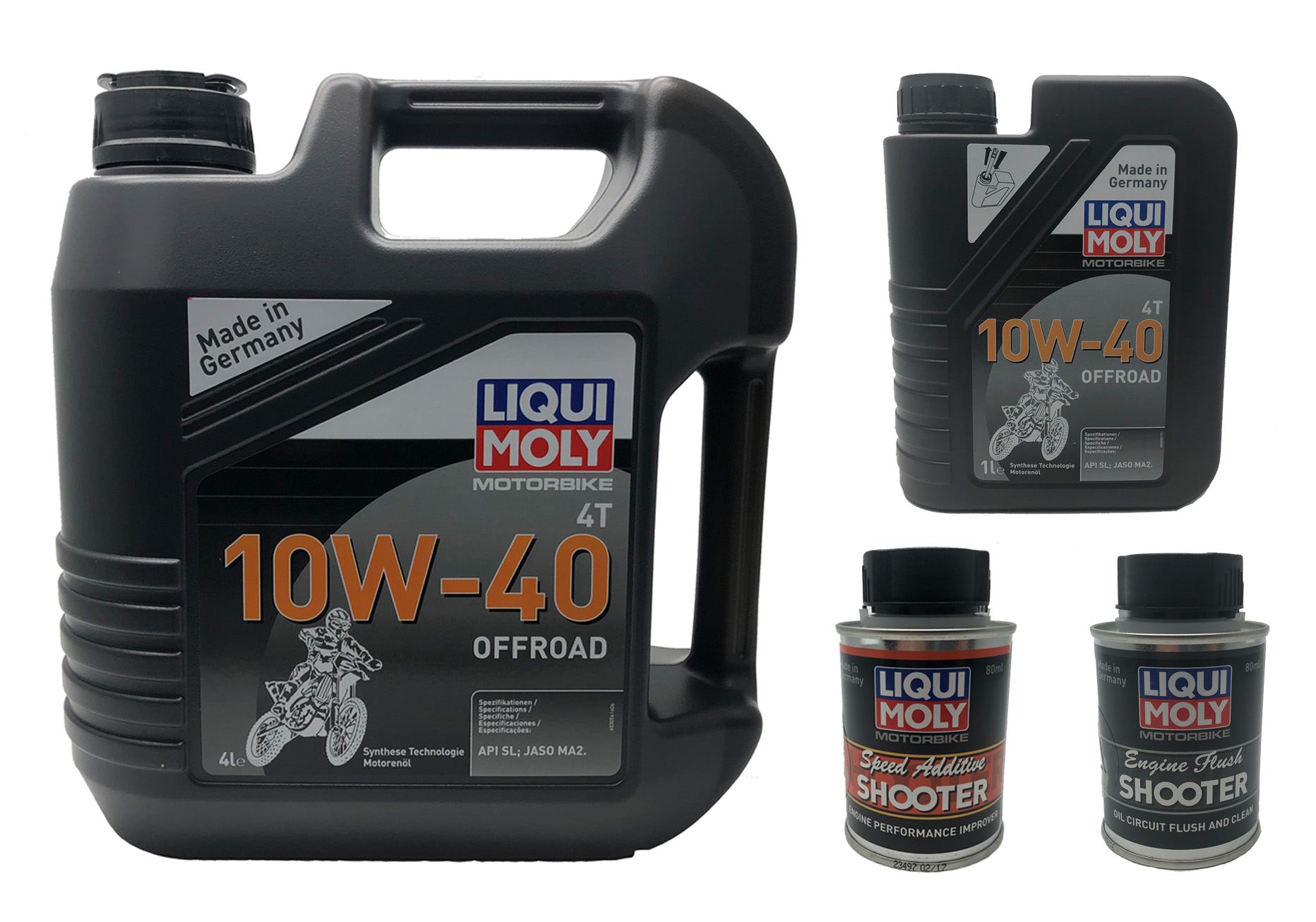 LIQUI MOLY 4 IN 1 SERVICE PERFORMANCE BUNDLE PACK