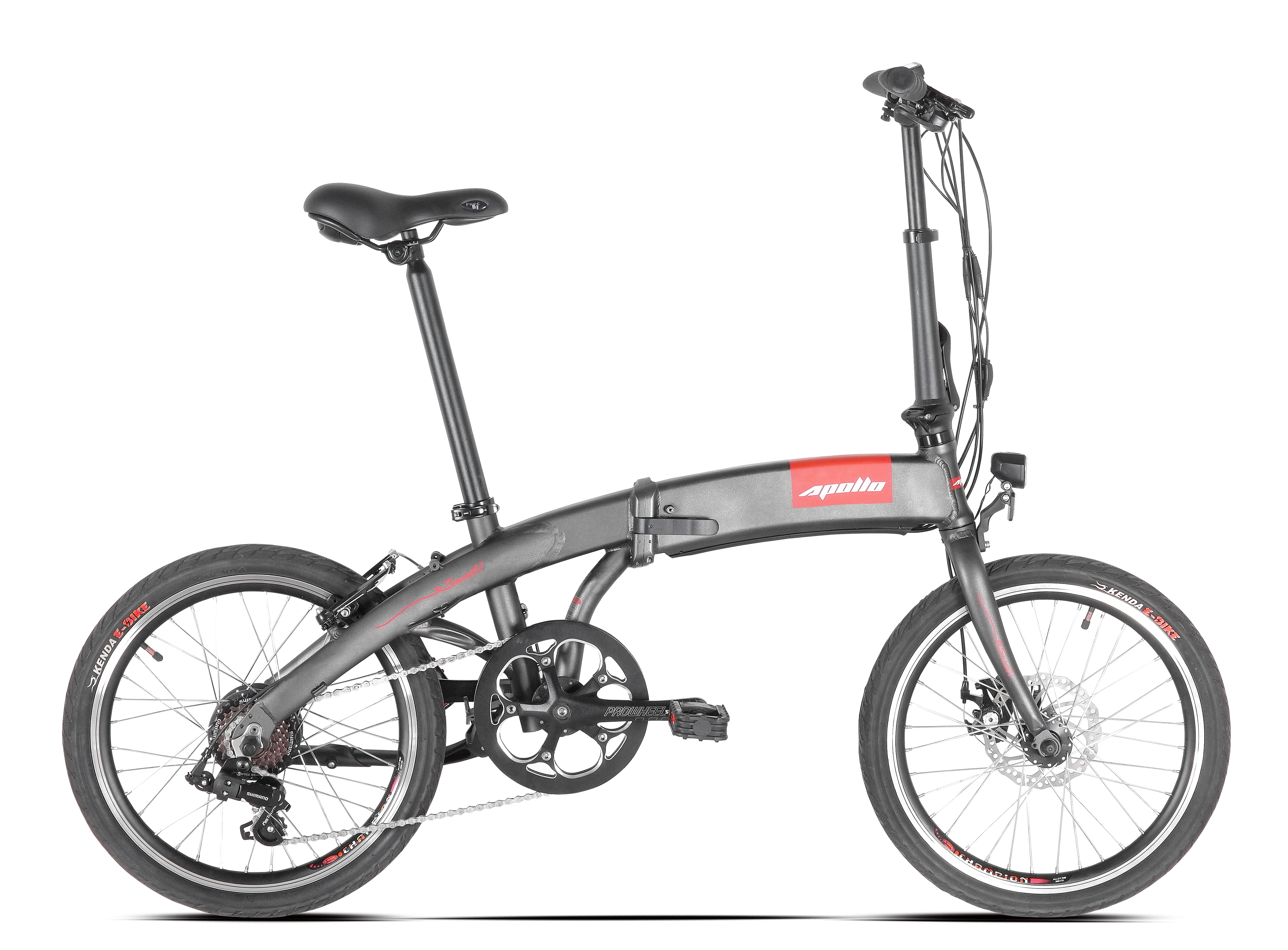 Smart 1s 'City' Folding Electric Bicycle