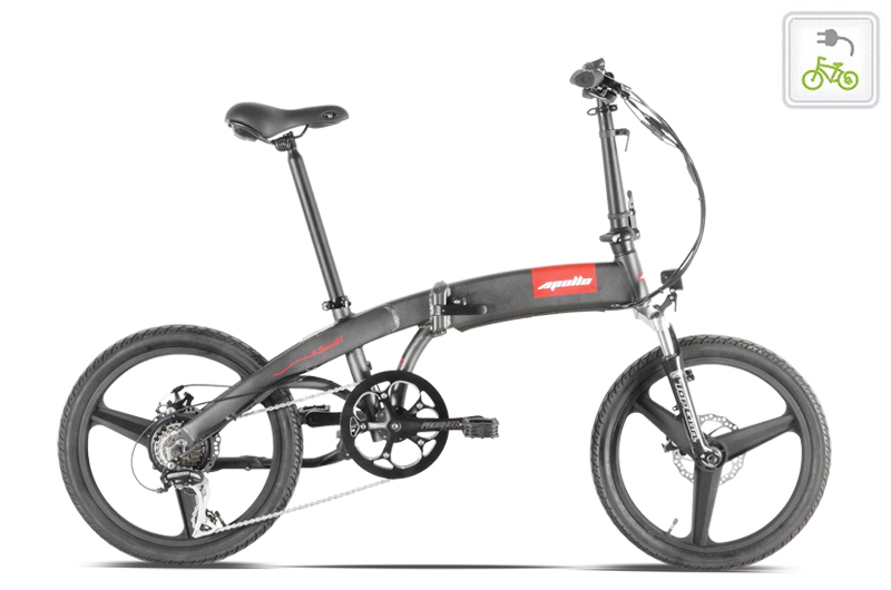 Smart 2s 'City' Folding Electric Bicycle