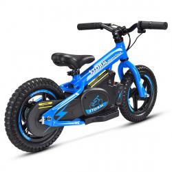 "Storm Kids 100w 12"" Electric Balance Bike - Blue"