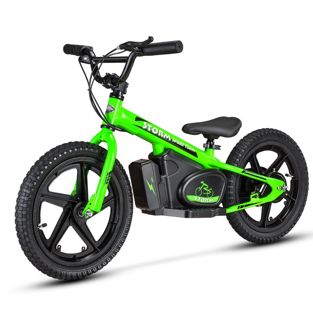 "Storm 16"" 170w Kids Electric Balance Bikes"
