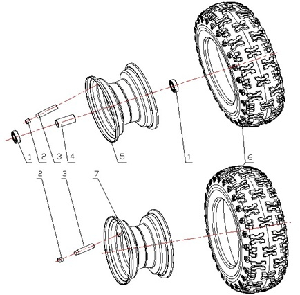Wheel And Tire Parts