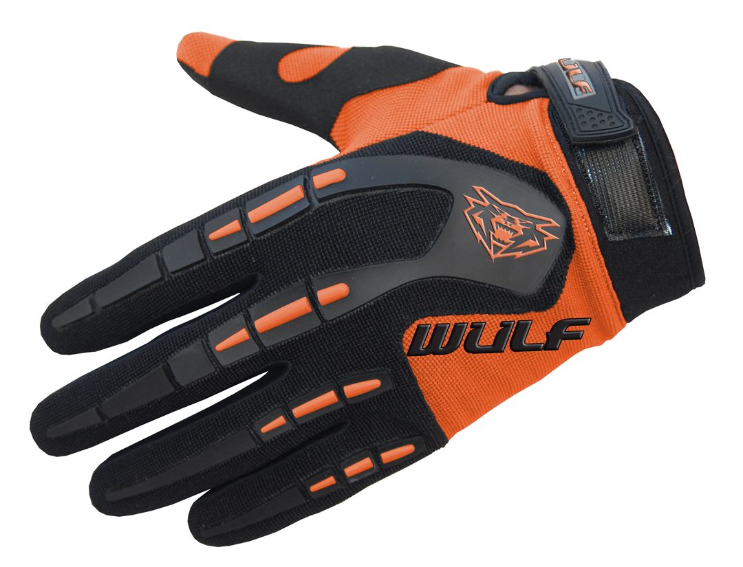 Wulfpsort Kids Attack Gloves - Orange