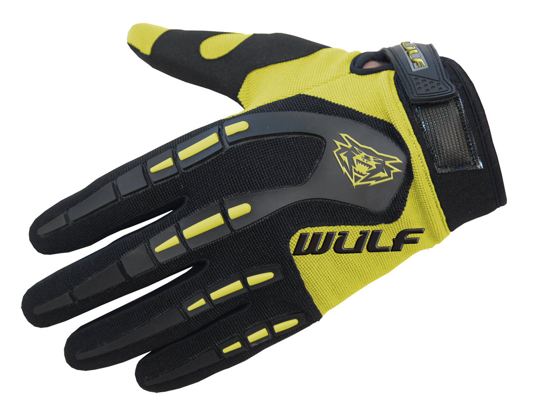Wulfpsort Kids Attack Gloves - Yellow