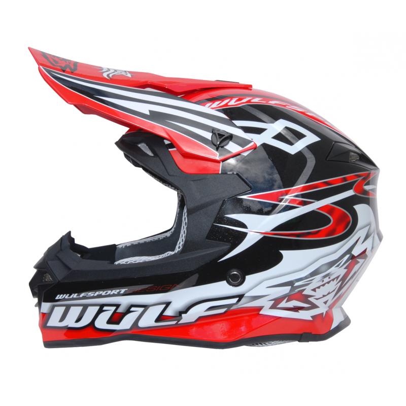 Wulfsport Adult Sceptre Helmet - Red