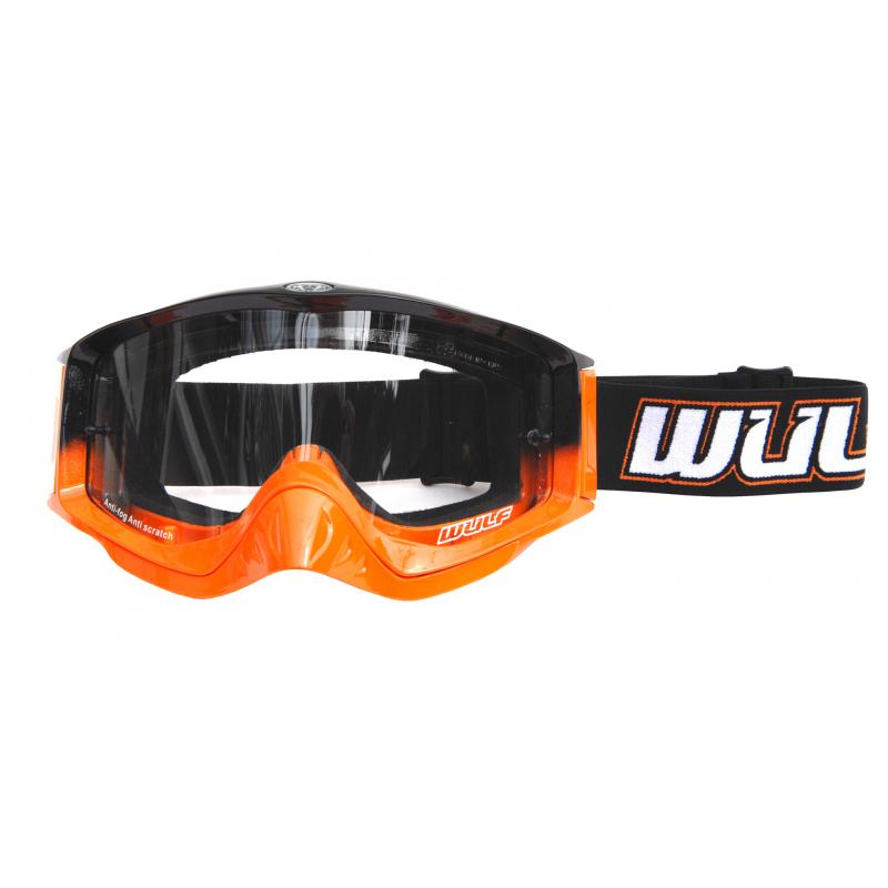 Wulfsport Adult Shade Goggles - Orange