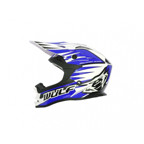 Wulfsport Adults Advance Helmet - Blue
