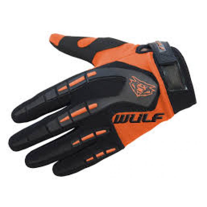Wulfsport Adults Attack Gloves - Orange