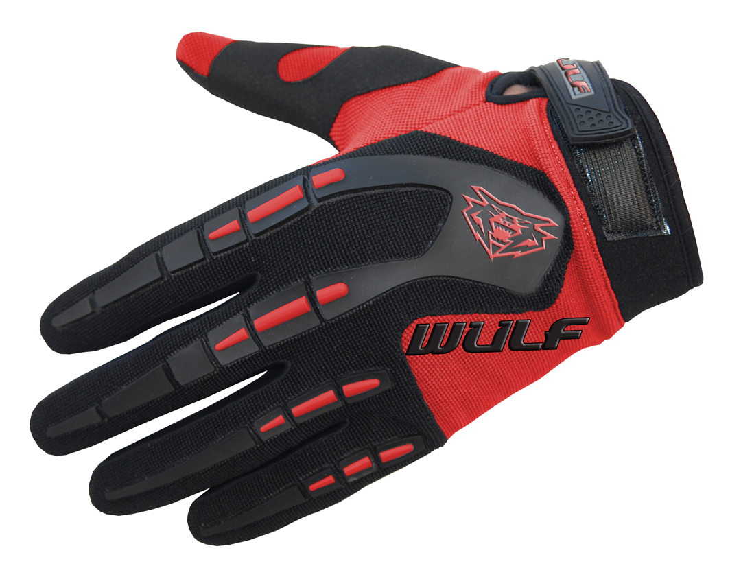 Wulfpsort Kids Attack Gloves - Red