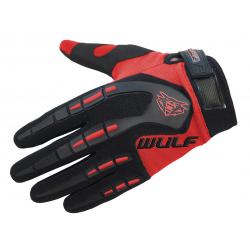 Wulfpsort Kids Attack Gloves - Red
