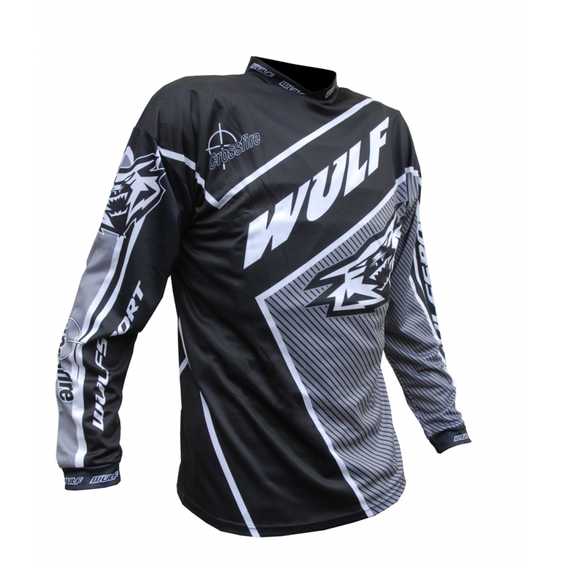 Wulfsport Crossfire Adult Race Shirt - Black