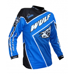 Wulfsport Crossfire Adult Race Shirt - Blue