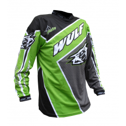 Wulfsport Crossfire Adult Race Shirt - Green