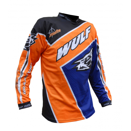 Wulfsport Crossfire Adult Race Shirt - Orange