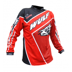 Wulfsport Crossfire Adult Race Shirt - Red
