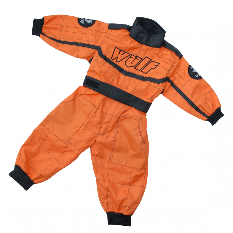 Wulfsport Cub Racing Suit - Orange