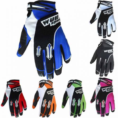 Wulfsport Cub Stratos MX Gloves - Blue
