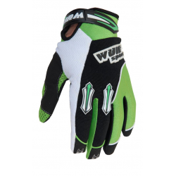 Wulfsport Cub Stratos MX Gloves - Green