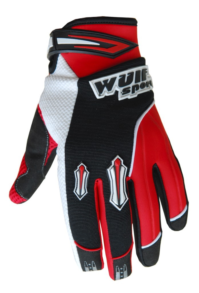 Wulfsport Cub Stratos MX Gloves - Red