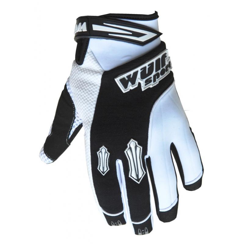 Wulfsport Cub Stratos MX Gloves - White