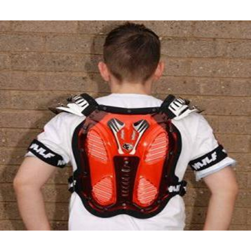 Wulfsport Cub Tabard Body Armour Protector Back