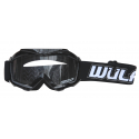 Wulfsport Cub Tech Goggles for MX Enduro - Black