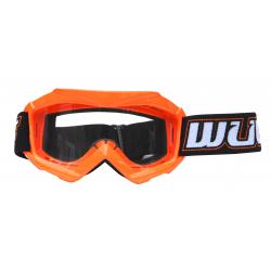 Wulfsport Cub Tech Goggles for MX Enduro - Orange