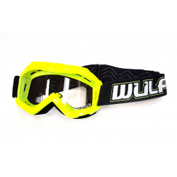 Wulfsport Cub Tech Goggles for MX Enduro - Yellow