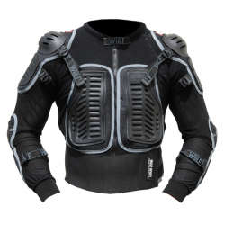 Wulfsport Full Deflector Protective Jacket Front