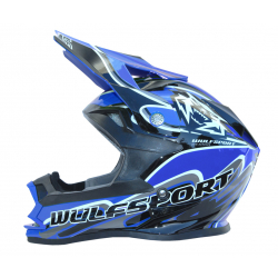 Wulfsport K2 Cub Helmet - Blue