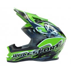 Wulfsport K2 Cub Helmet - Green