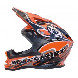 Wulfsport K2 Cub Helmet - Orange