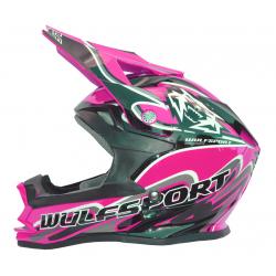 Wulfsport K2 Cub Helmet - Pink