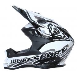 Wulfsport K2 Cub Helmet - White